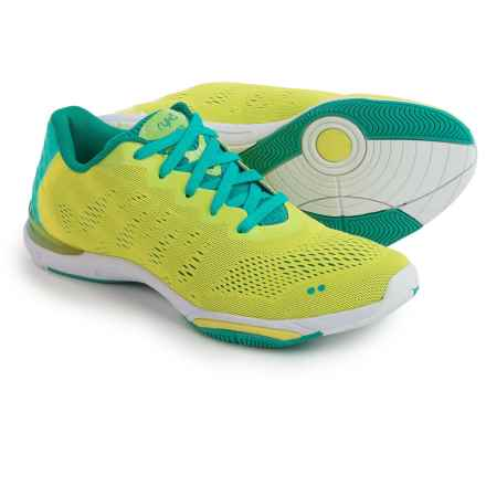 ryka Achieve Training Shoes (For Women) in Yellow/Teal/White - Closeouts