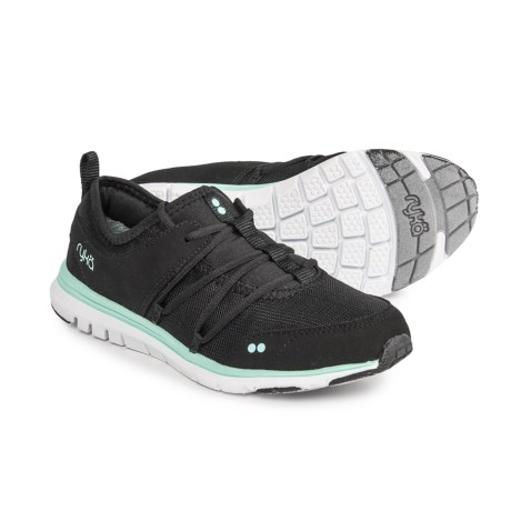 ryka Andrea All-Day Comfort Sneakers (For Women) in Black