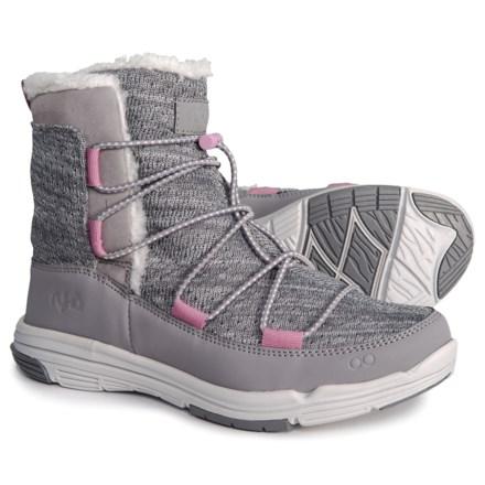 bb51e9f1b97017 ryka Aubonne Winter Boots (For Women) in Frost Grey