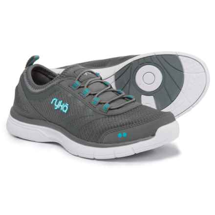 ryka Divya Training Shoes - Slip-Ons (For Women) in Grey/Blue/White - Closeouts