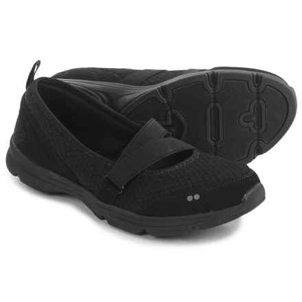 ryka Jamie Mary Jane Shoes - Slip-Ons (For Women) in Black - Closeouts