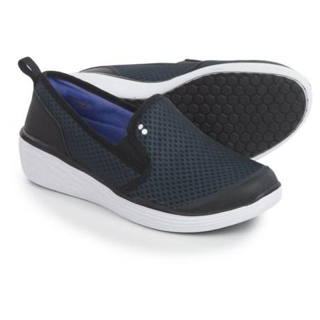 RYKA Women's Neve Fashion Sneaker, Black/Purple, 8 M US