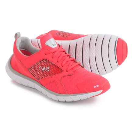 ryka Pria Running Shoes (For Women) in Coral/Silver - Closeouts