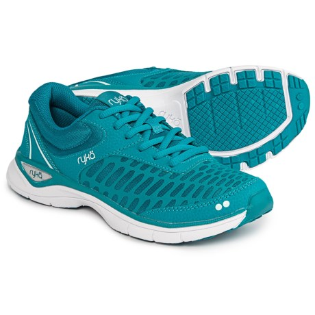 ryka Rae Walking Shoes (For Women) in Enamel Blue