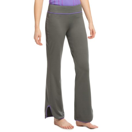 Ryka Reflect Pants - Relaxed Fit (For Women) in Castlerock/Purple