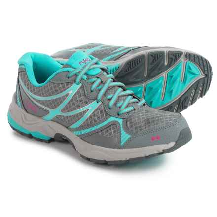ryka Revive RZX Walking Shoes (For Women) in Grey/Blue - Closeouts