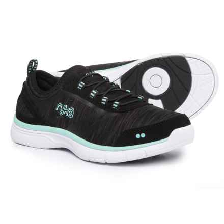Ryka ryka Divya Training Shoes - Slip-Ons (For Women) in Black/Mint Fabulous - Closeouts