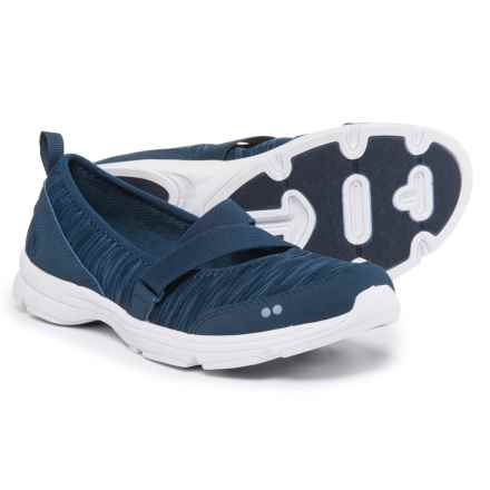 Ryka ryka Jamie Mary Jane Shoes - Slip-Ons (For Women) in Blue/Amythyst - Closeouts