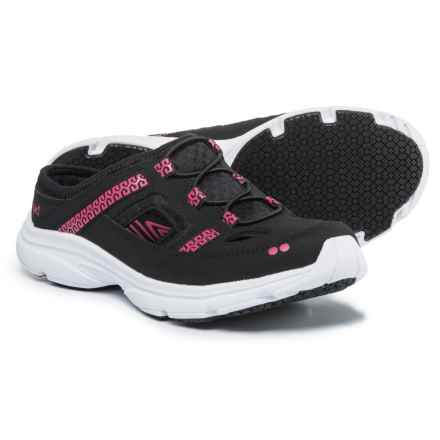 Ryka Tisza Mule Sneakers (For Women) in Black/Pink - Closeouts