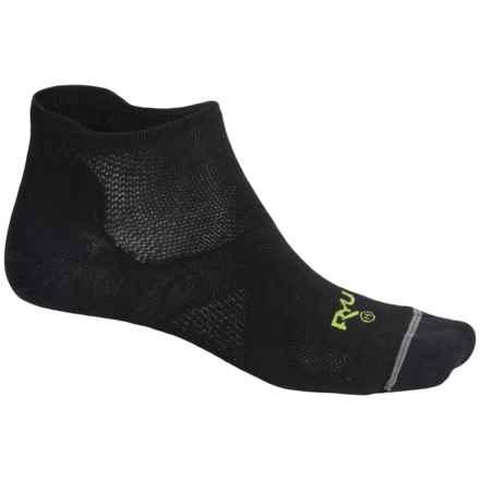 RYU Multisport Socks - Below the Ankle (For Men) in Black/Green - Closeouts
