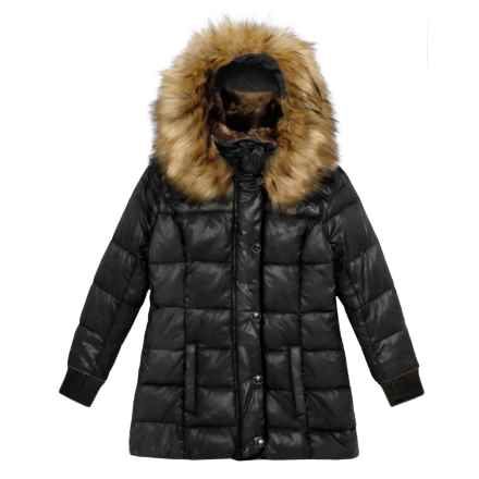 S13/NYC Chelsea Bubble Down Jacket - Insulated (For Toddler and Little Girls) in Jet - Closeouts
