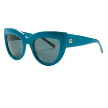 SABRE Runaway Sunglasses (For Women) in Blue Pearl/Gray - Closeouts