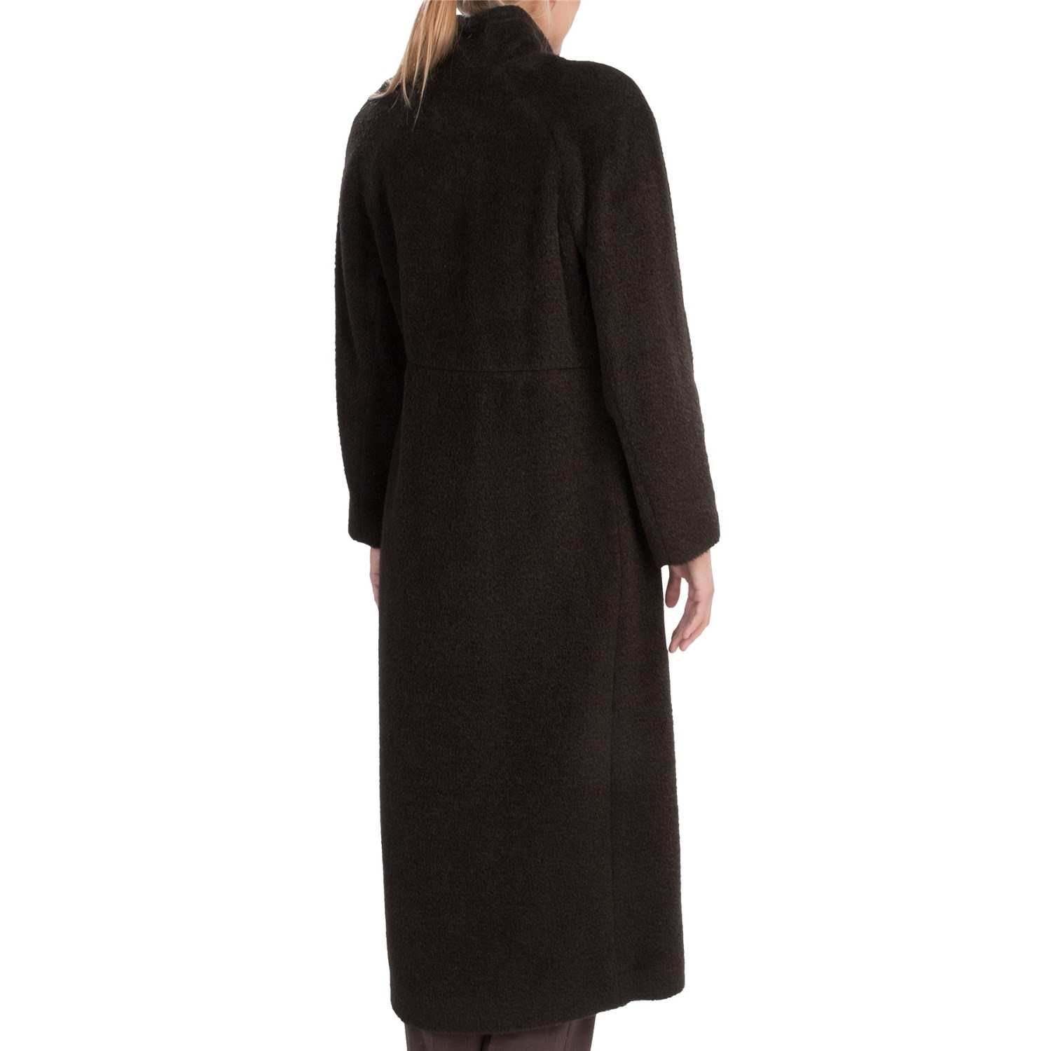 6620H_2 Sachi Collection Full-Length Coat - Suri Alpaca-Wool (For Women