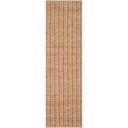 """Safavieh Cape Cod Sisal Flat Weave Floor Runner - 2'3""""x8' in Beige / Rust - Overstock"""