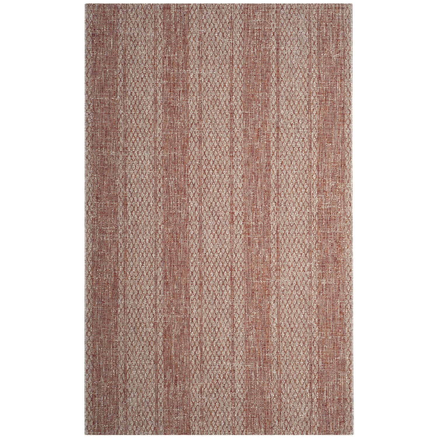 Safavieh Courtyard Collection Striped Indoor Outdoor Area Rug 5 3
