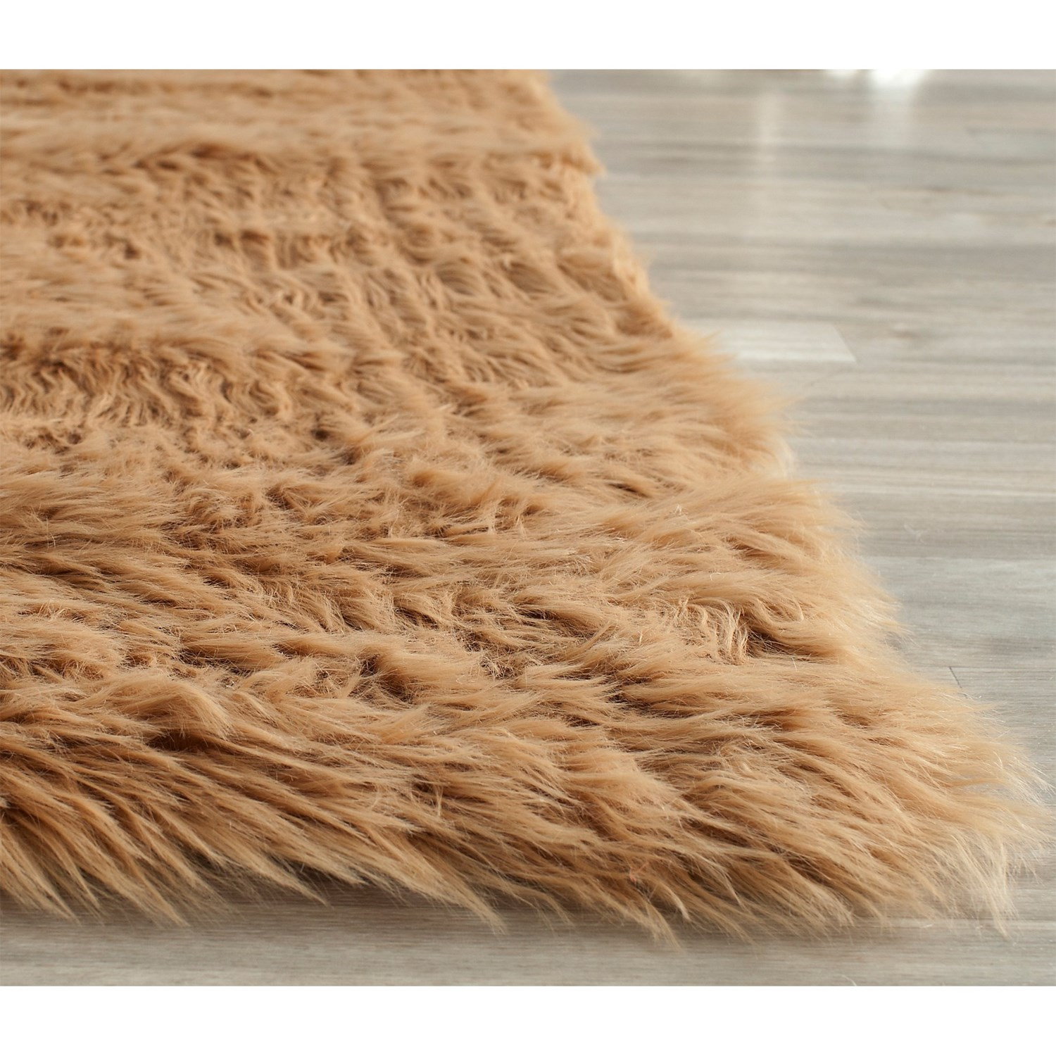 Safavieh Faux Fur Sheepskin Shaped Rug 8x10 Save 60