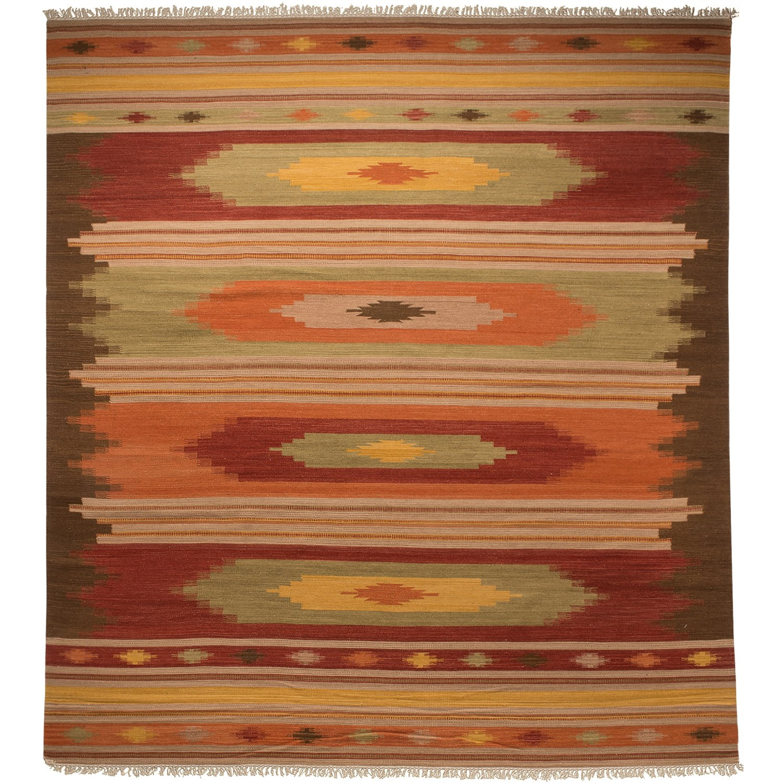 Safavieh Kilim Collection Multi Brown Area Rug 8x10