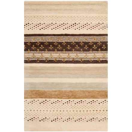Safavieh Wyndham Area Rug - 4x6', Hand-Tufted Wool in Ivory/Multi - Closeouts