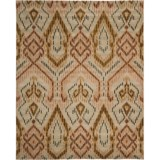 Safavieh Wyndham Collection Brown and Ivory Area Rug - 8x10', Hand-Tufted Wool