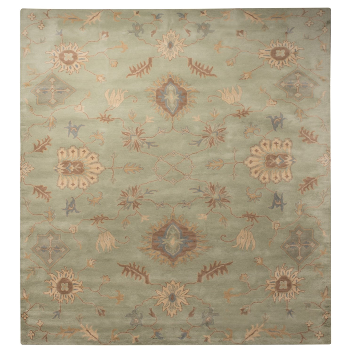Stella Collection Hand Tufted Area Rug In Beige Light: Safavieh Wyndham Collection Light Green Area Rug