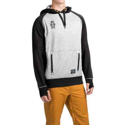 Saga Academics Riding Hoodie (For Men) in Stealth - Closeouts