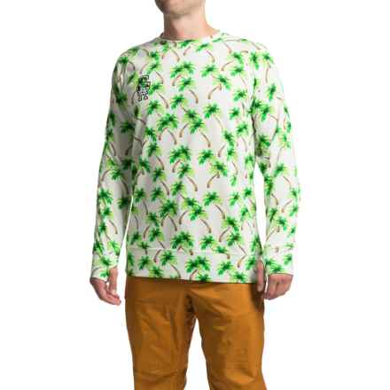 Saga All Over Tek Thermal Shirt - Long Sleeve (For Men) in Hawaii - Closeouts