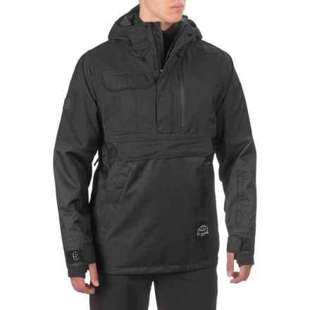 Saga Anomie 2L Jacket - Waterproof, Zip Neck (For Men) in Black - Closeouts