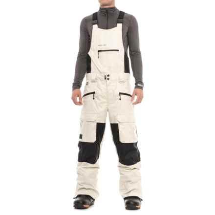 Saga Anomie Bib Pants - Waterproof (For Men) in Silver Birch - Closeouts