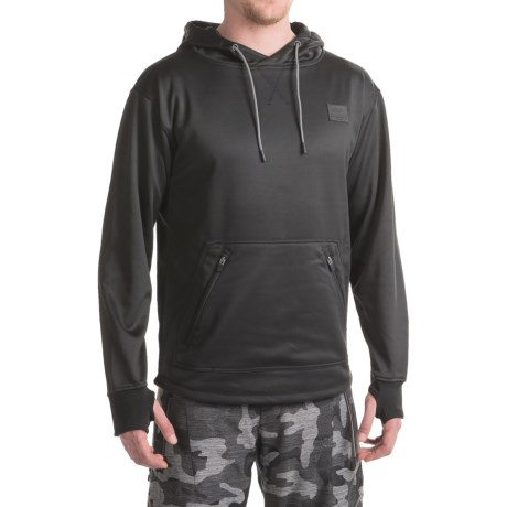Saga Day Trip Riding Hoodie (For Men) in Black