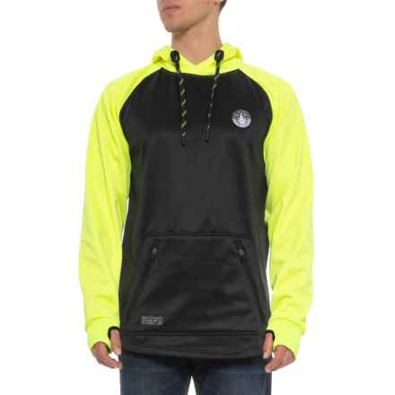 Saga Day Trip Riding Hoodie (For Men) in Flux Yellow - Closeouts