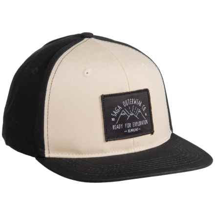 Saga Exploration Snap-Back Baseball Cap (For Men) in Silver Birch - Closeouts