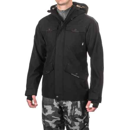 Saga Fatigue 2L Jacket - Waterproof, Insulated (For Men) in Black - Closeouts