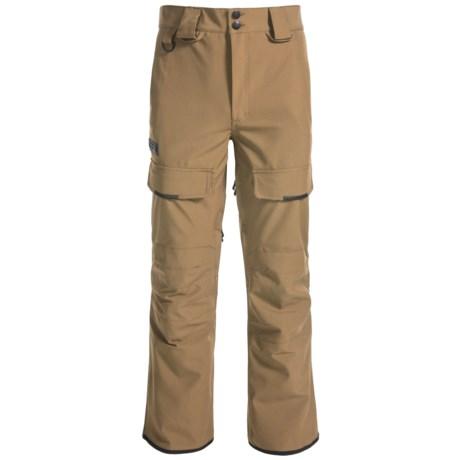Saga Fatigue 2L Pants - Waterproof (For Men) in Khaki