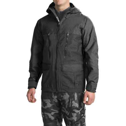 Saga Monarch Jacket - Waterproof (For Men) in Black - Closeouts