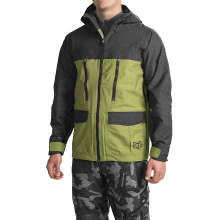Saga Monarch Jacket - Waterproof (For Men) in Green - Closeouts