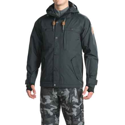 Saga Mutiny Jacket - Waterproof, Insulated (For Men) in Black - Closeouts