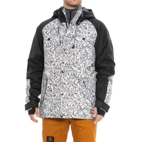 Saga Mutiny Jacket - Waterproof, Insulated (For Men) in Blanc Marble