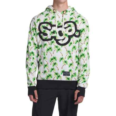 Saga OG Logo Riding Hoodie (For Men) in Hawaii - Closeouts