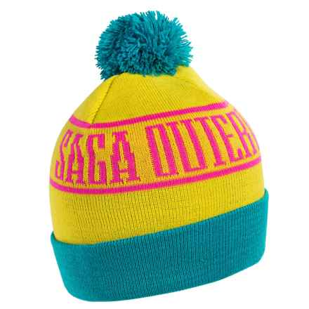 Saga Palm Beanie (For Men and Women) in Blast Off - Closeouts