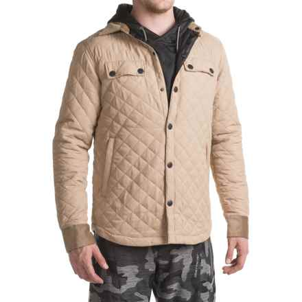 Saga Quilted Jacket (For Men) in Khaki - Closeouts