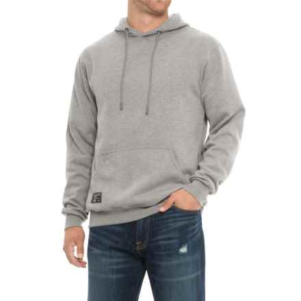 Saga Reflective Logo Graphic Hoodie (For Men) in Grey - Closeouts