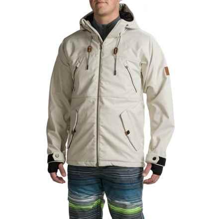 Saga Shutout Jacket - Waterproof (For Men) in White - Closeouts