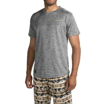 Saga Tek T-Shirt - Short Sleeve (For Men) in Grey - Closeouts