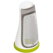 Sagaform Box Grater with Removable Silicone Bottom in Green - Closeouts