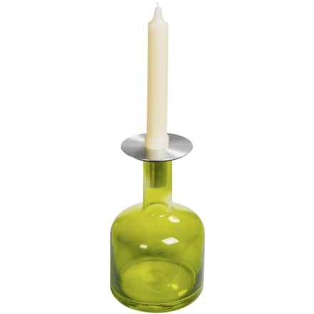 "Sagaform Pava Candle Holder - Medium, 4x7"" in Green - Closeouts"