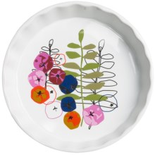 "Sagaform Season Collection Stoneware Pie Plate - 9-1/2"" in Multi - Closeouts"