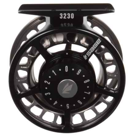 Sage 3230 Fly Reel in Black/Platinum - Closeouts