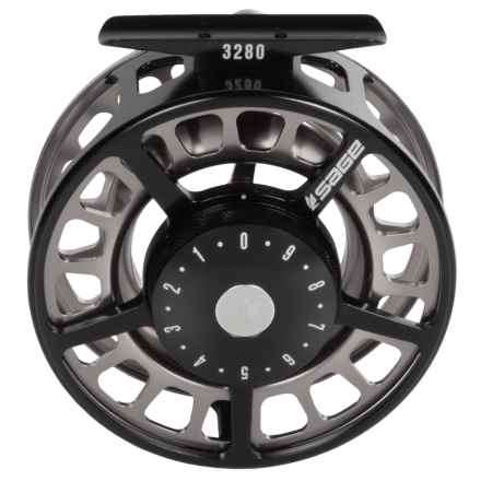 Sage 3280 Fly Reel in Black/Platinum - Closeouts