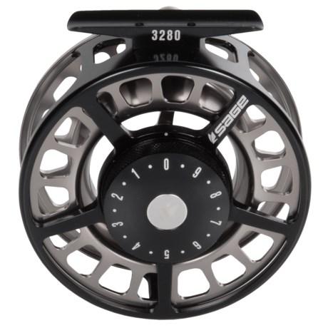 Sage 3280 Fly Reel in Black/Platinum