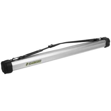 """Sage 33"""" Multi-Rod Travel Tube - Small in Aluminium - Closeouts"""